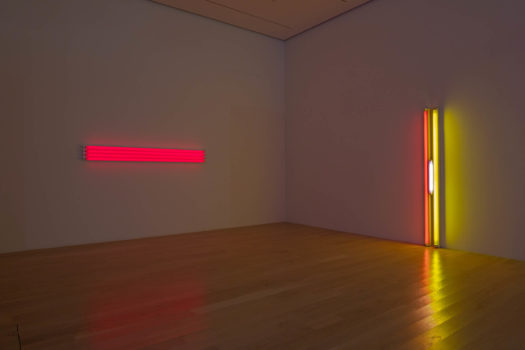 Installtion view: Dan Flavin at Institute of Contemporary Art, Miami