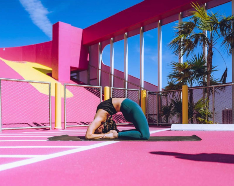 Ahana Yoga in the Miami Design District.