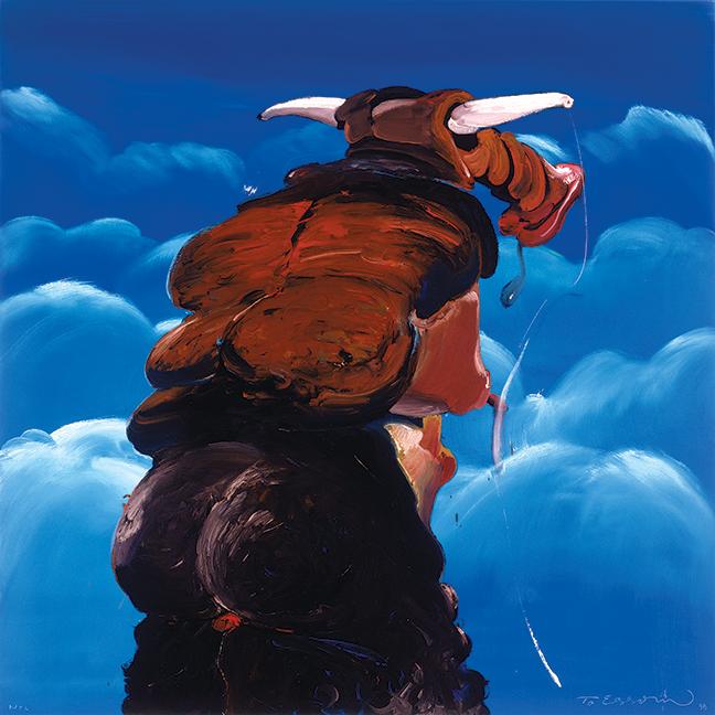 Tomás Esson, Retrato #33 [Portrait # 33], 1998. Oil on canvas. Courtesy the artist and Fredric Snitzer Gallery.