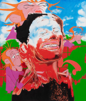 Janiva Ellis, Image of Prescribed Ambush (2018), a painting by the artist