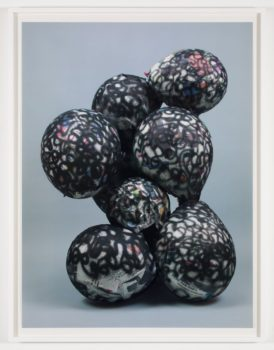 Nicolas Lobo, Balloon Collage (Palsy version #10), 2013