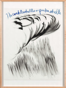 Raymond Pettibon, Untitled (No cockleshells or pukashells), 2003