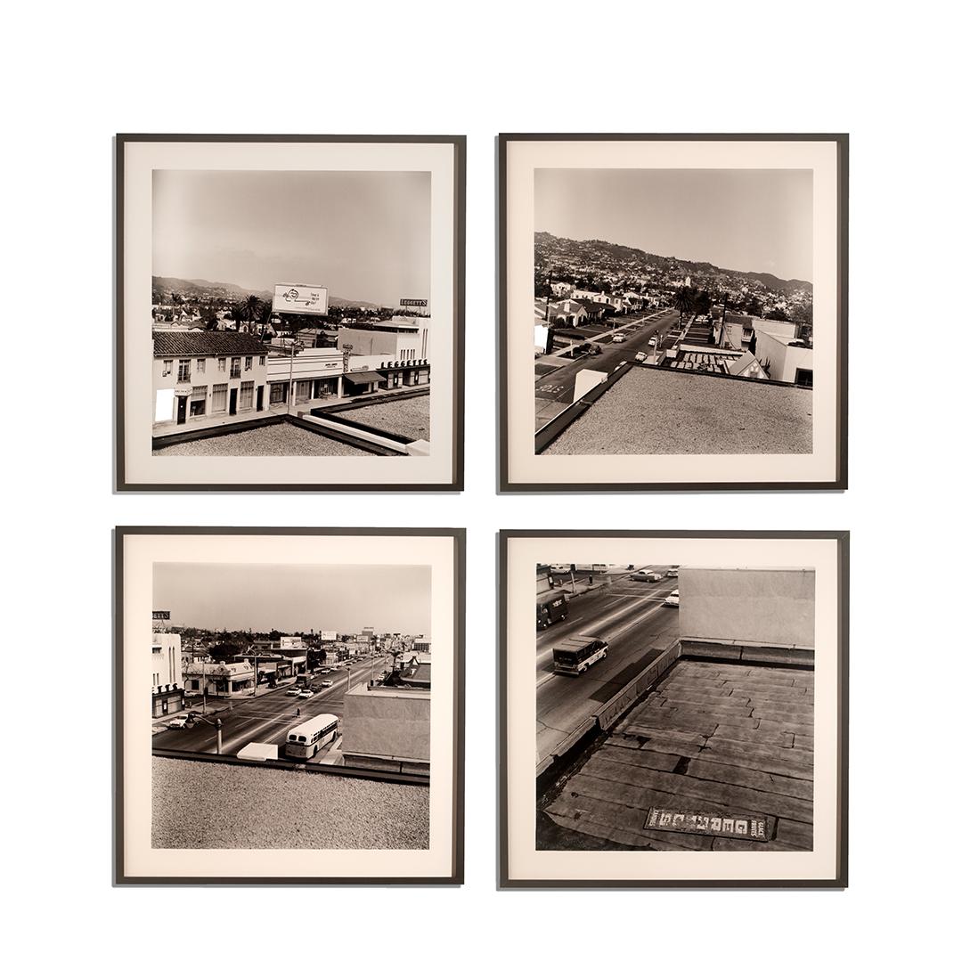 Ed Ruscha, <i>Untitled (Rooftops)</i>, 1961