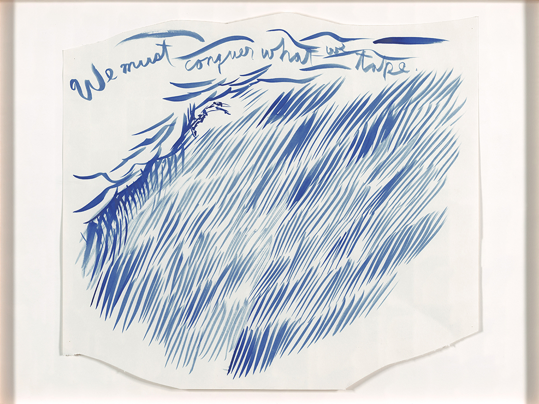 Raymond Pettibon, Untitled (We must conquer), 2003