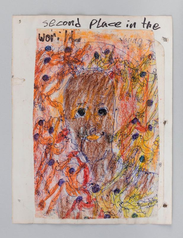 Purvis Young, Man Advantage, N/D / Second Place, 1975