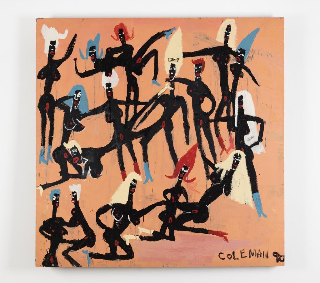 Craig Coleman, Black Lezzies in the Shaft Era, 1990