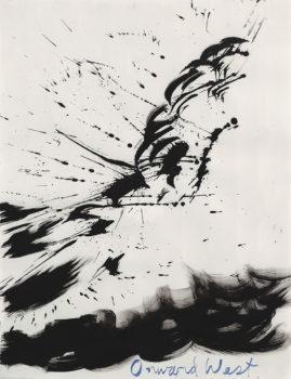 Raymond Pettibon, Untitled (Onward West), 2003