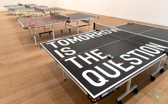 Rirkrit Tiravanija, Untitled (Tomorrow Is The Question), 2016