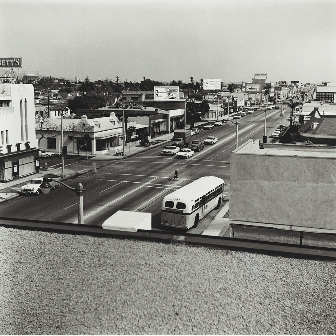 Ed Ruscha, Untitled (Rooftops), 1961