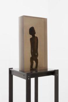 Matthew Angelo Harrison, Dark Silhouette: Timid Male Figure, 2018