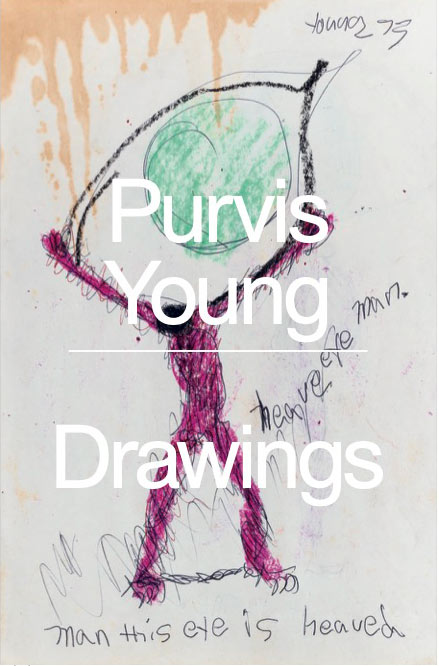 Book Front Cover of Purvis Young: Drawings