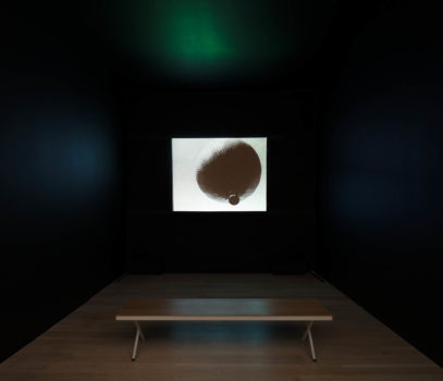 Installation image of Terry Adkins, Flumen Orationis (from The Principalities), 2012 at ICA Miami