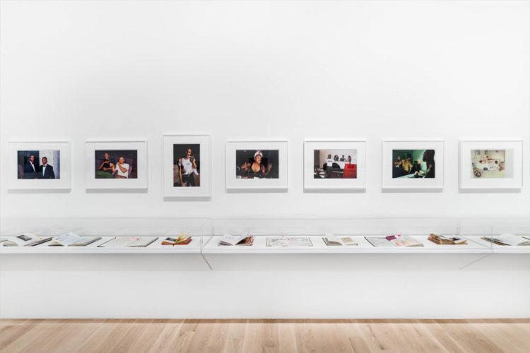 Installation view: Lyle Ashton Harris: Ektachrome Archive. Institute of Contemporary Art, Miami. Sep 23, 2020 – May 31, 2021. Photo: Zachary Balber.
