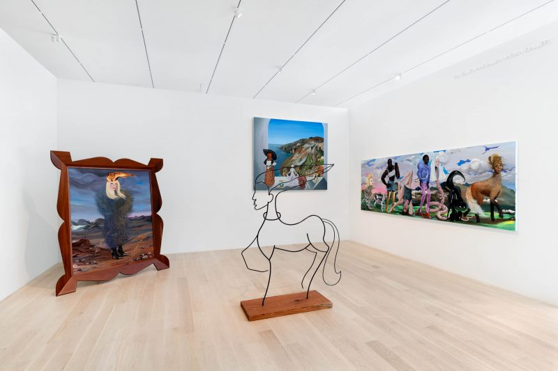 "Installation view: ""Dalton Gata: The Way We'll Be,"" Institute of Contemporary Art, Miami. Photo: Zachary Balber."