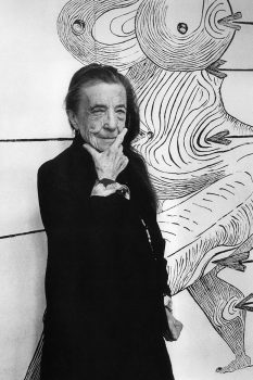 Image of artist Louise Bourgeois