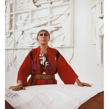 Image of artist Louise Nevelson